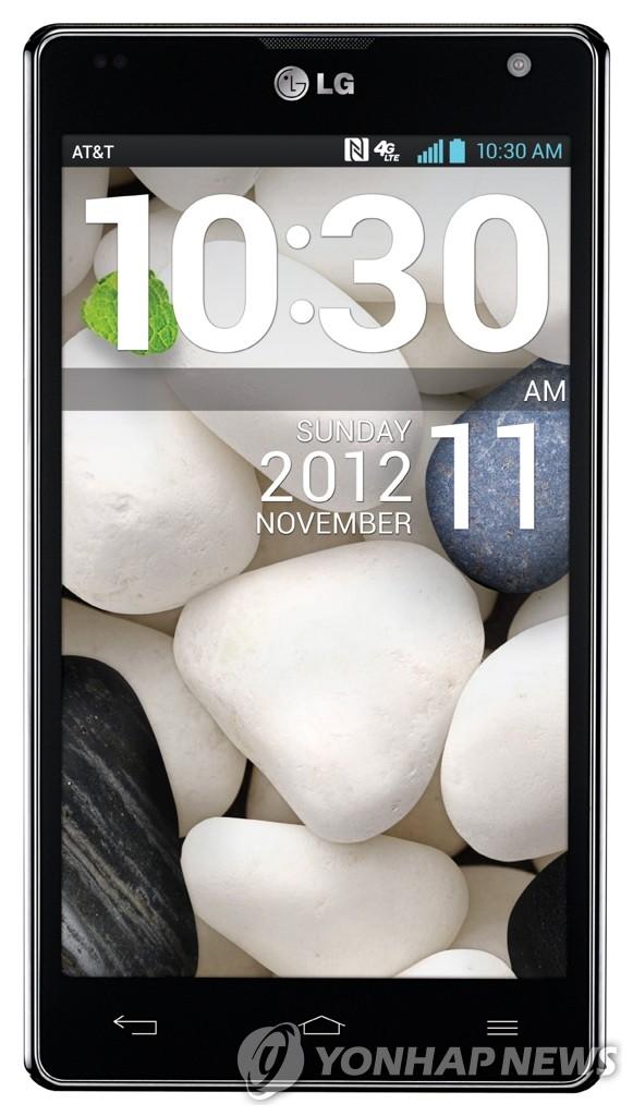 LG电子手机Optimus G在美上市