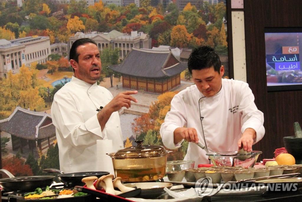 迪拜电台烹饪节目介绍韩餐