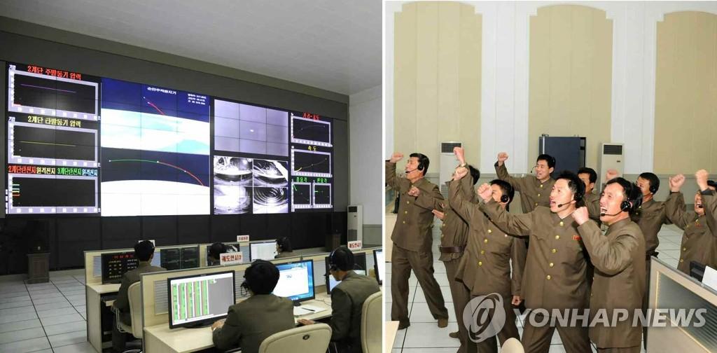 朝鲜媒体在火箭发射13小时后公开发射场面