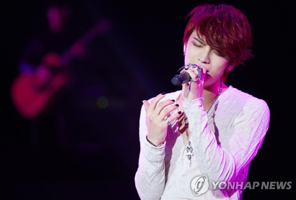 JYJ金在中在上海举办个唱