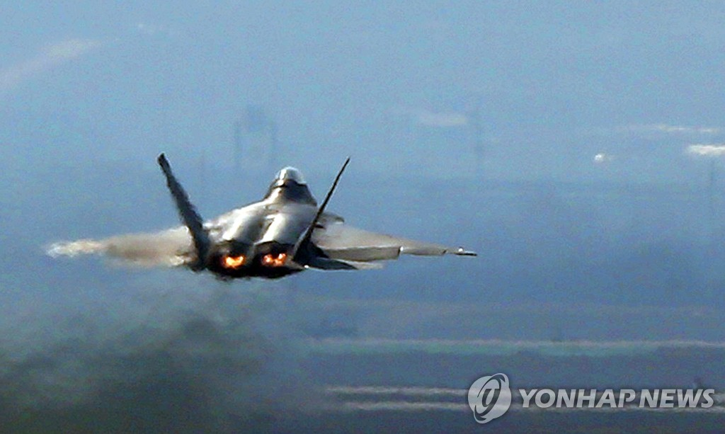 美国F-22隐形战机