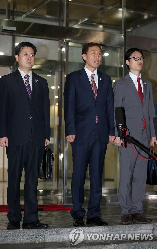 第五轮开城工作会谈韩方代表赶赴开城