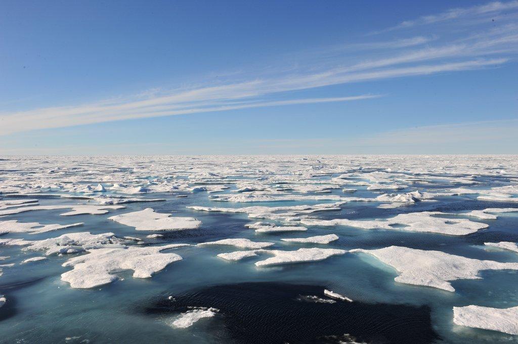 资料图片:北极海(韩联社)