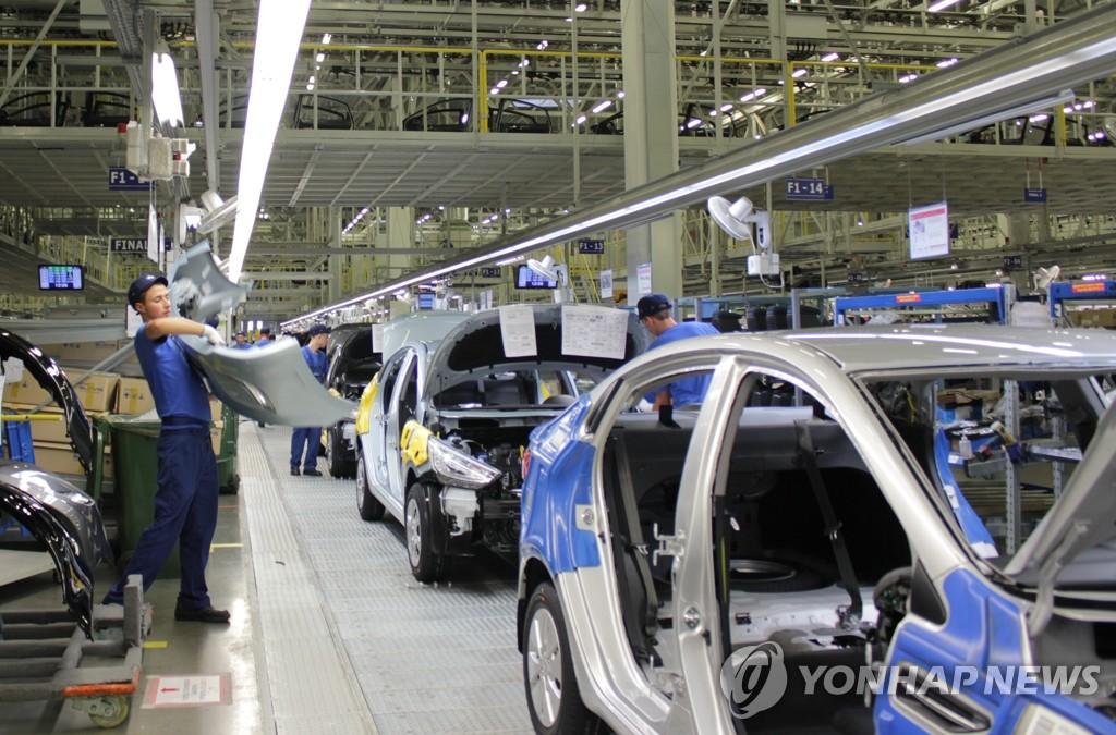 现代汽车俄圣彼得堡工厂产量破50万辆