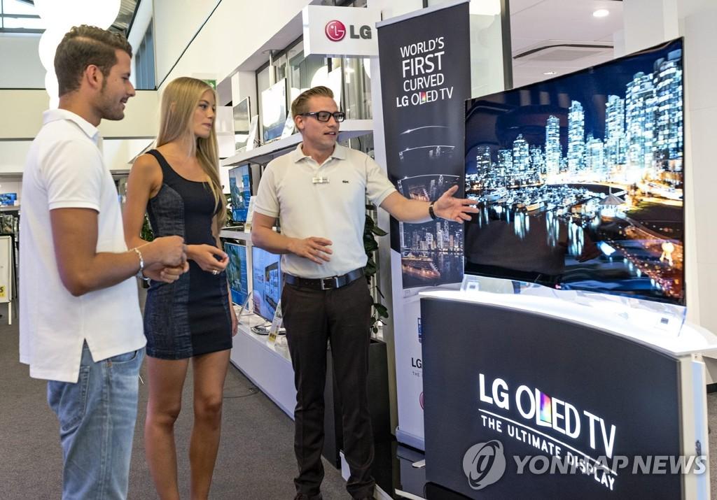 LG推出曲面OLED电视