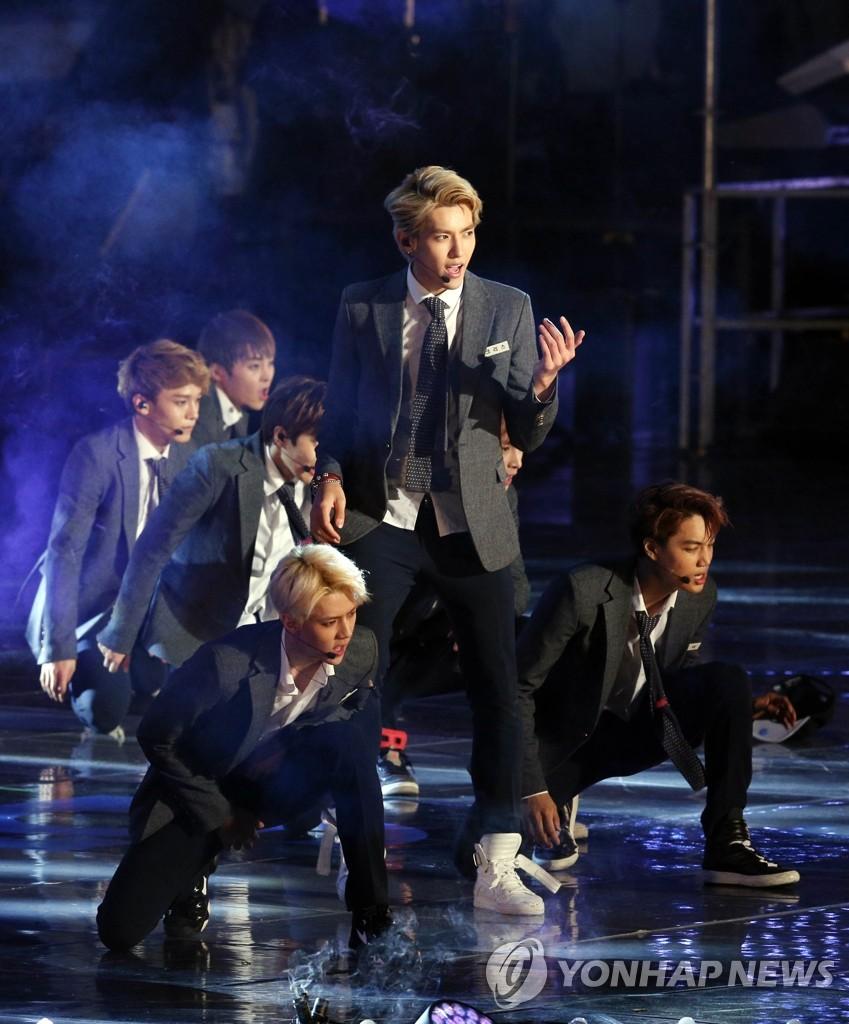 男团EXO首张专辑销量破90万张