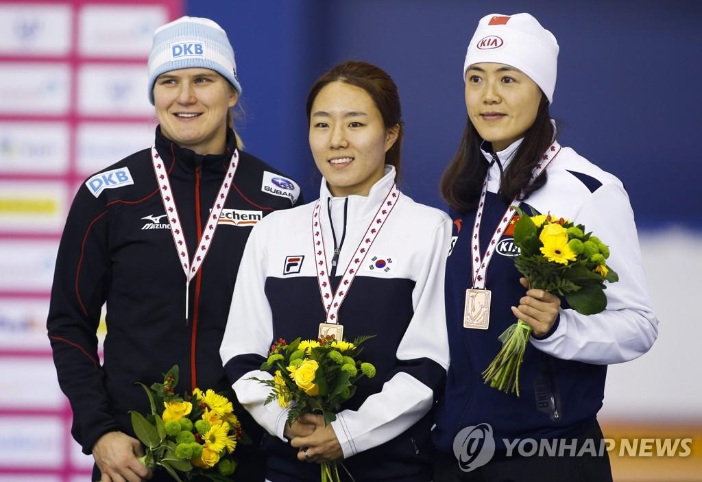 李相花夺速滑世界杯金牌