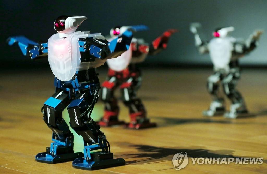"""韩""""机器人路演""""登陆武汉和西安"""