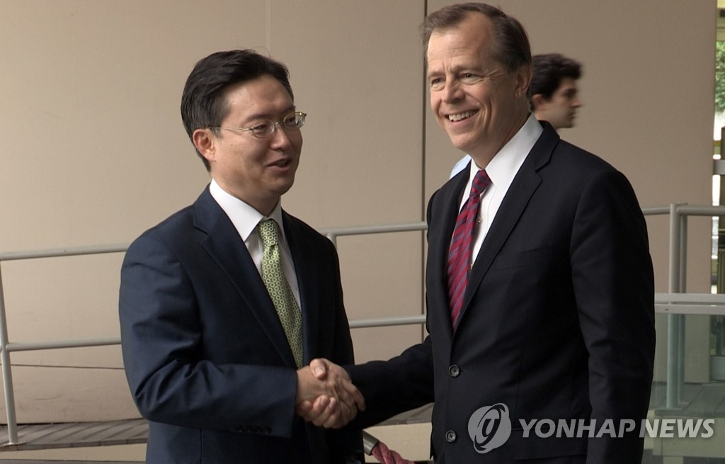 六方会谈韩美团长会晤