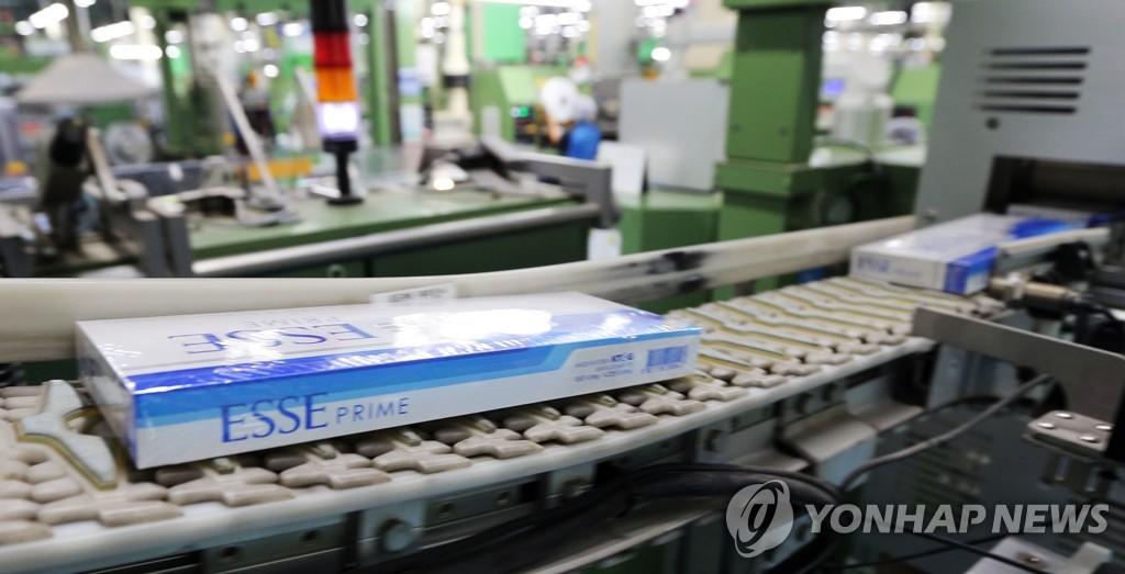 韩政府宣布上调烟价
