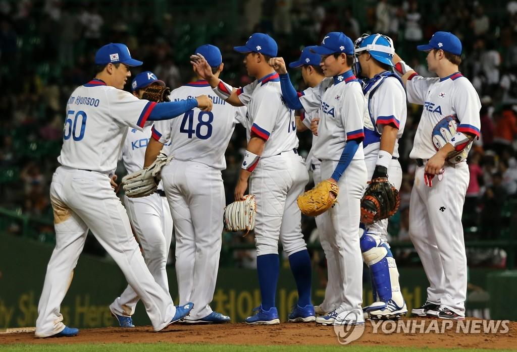韩国队获亚运会棒球小组赛首胜