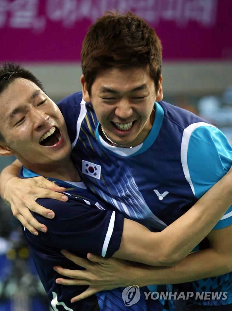 韩羽球男团亚运夺冠 李龙大圆亚运金牌梦