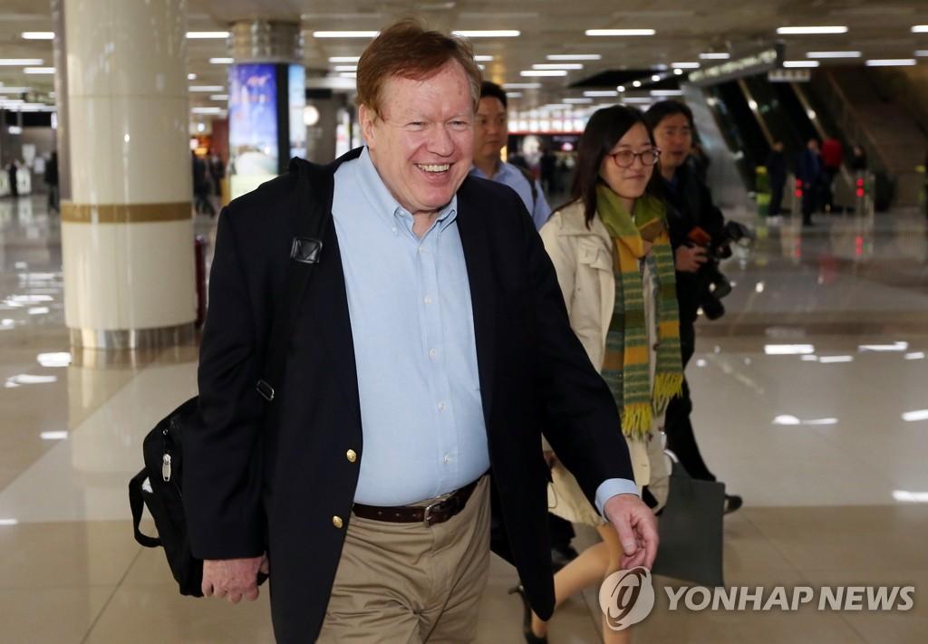 美国务院朝鲜人权事务特使抵韩