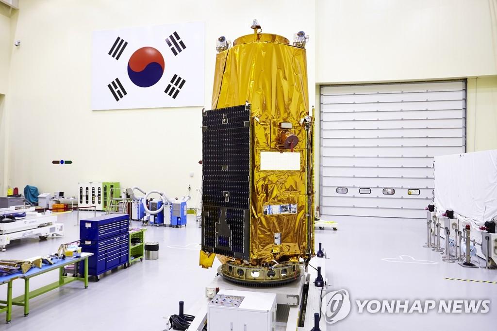 """韩国明年发射""""阿里郎3A号""""卫星"""