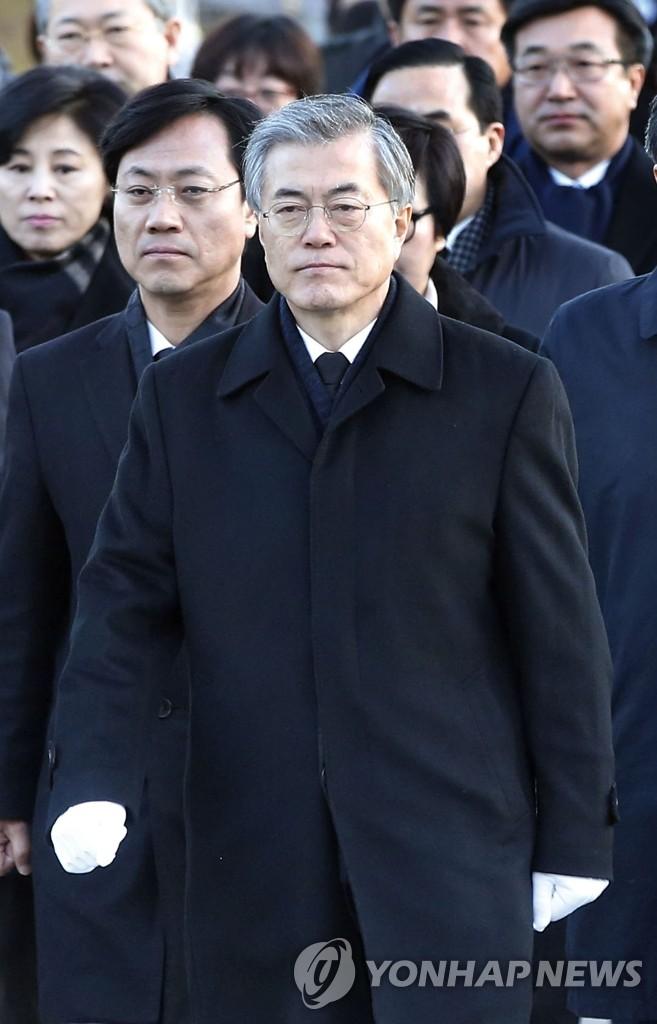 韩在野党党首文在寅会见中国大使:愿早日访华