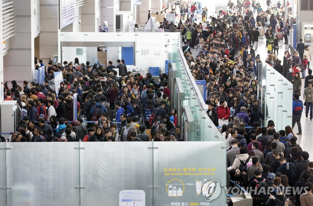 中国游客排长龙