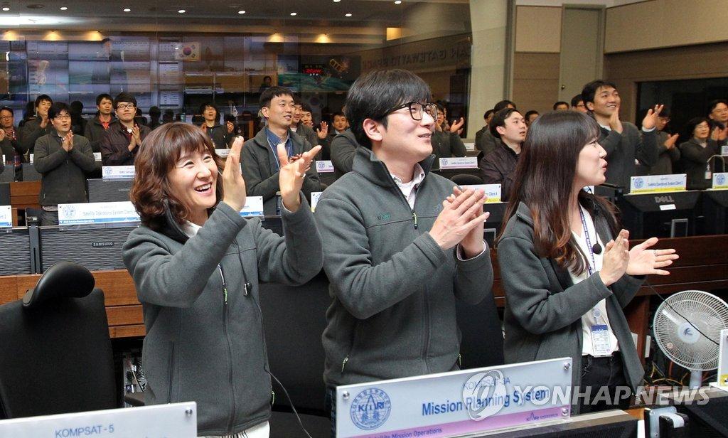 韩国首次公开实用卫星阿里郎3A拍摄的地球观测影像