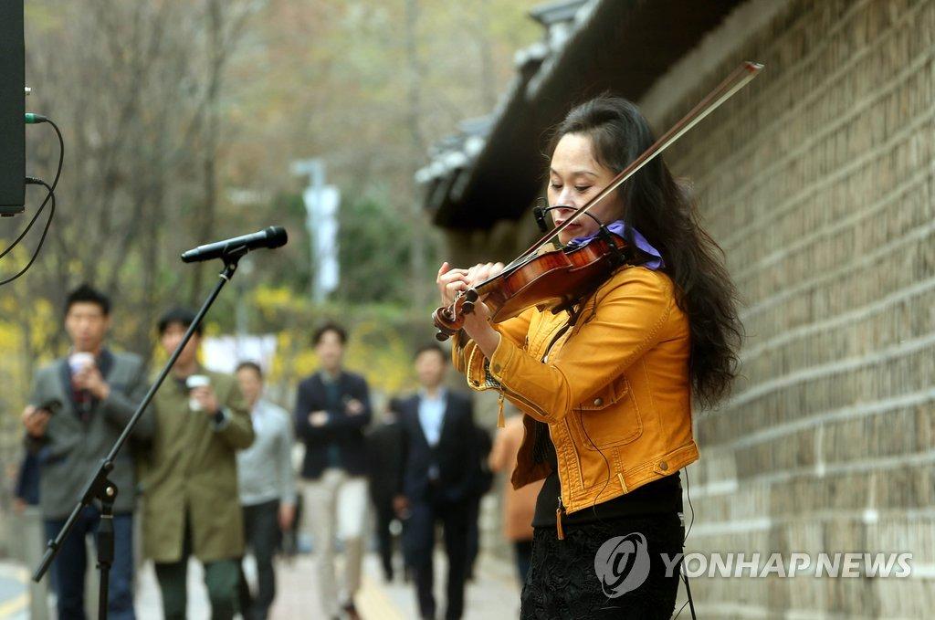 故宫的小小音乐会
