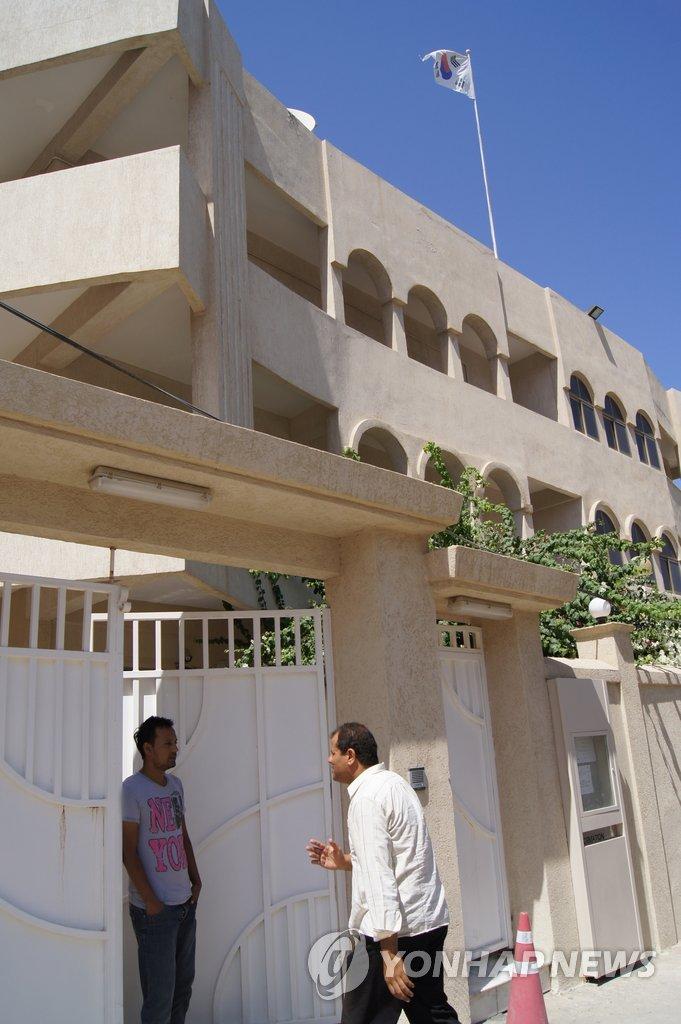 韩驻利使馆遭袭击致2人死亡