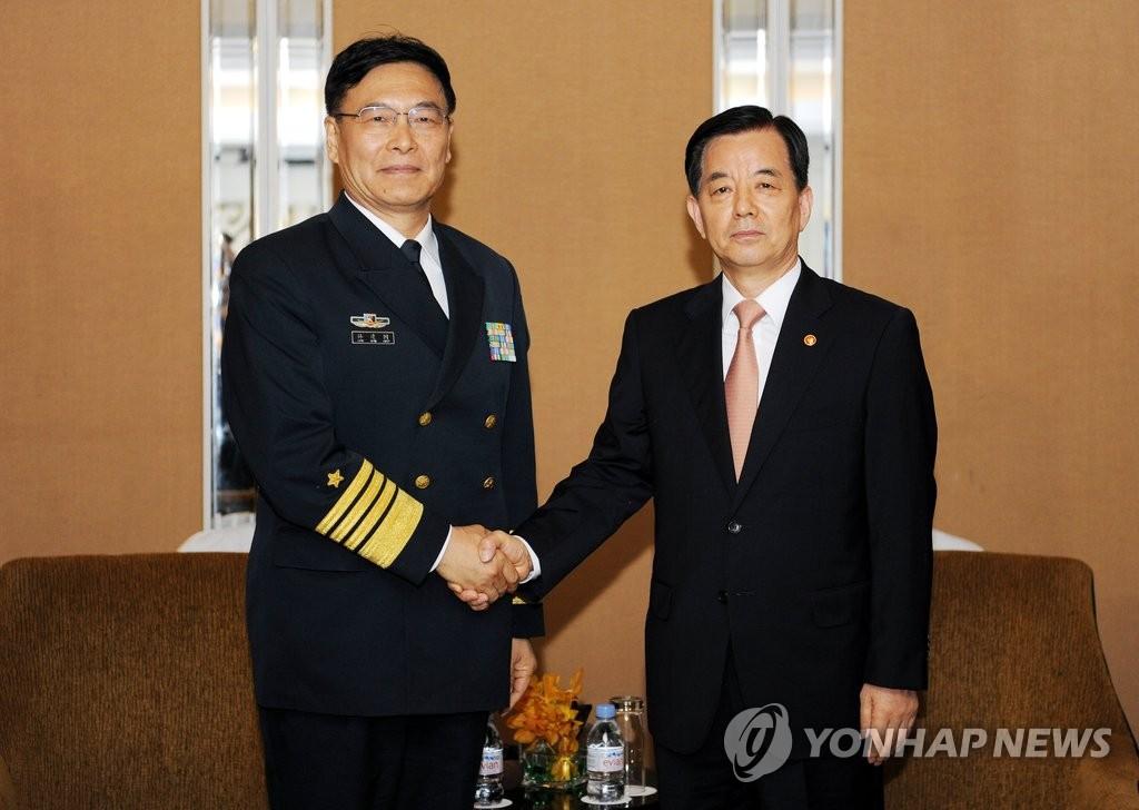 韩中国防高层会晤