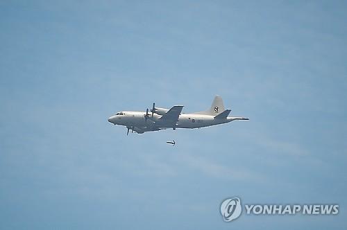 美国反潜机飞临半岛监视朝鲜射弹动向