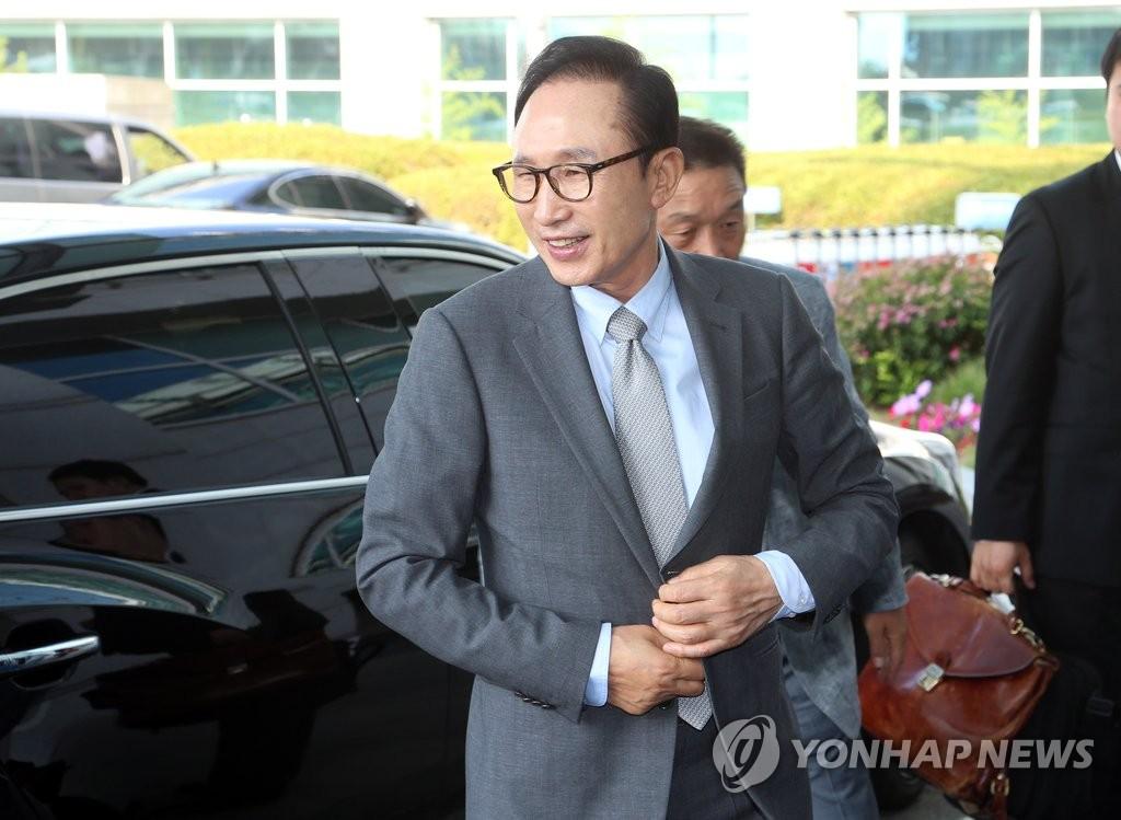 韩前总统李明博赴华出席全球新财富论坛