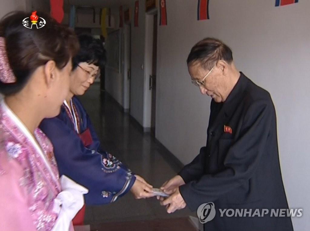 朝鲜外交核心人物姜锡柱暴瘦20公斤