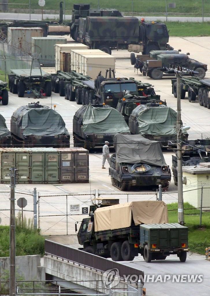 韩美启动联合作战体系应对朝鲜开炮挑衅
