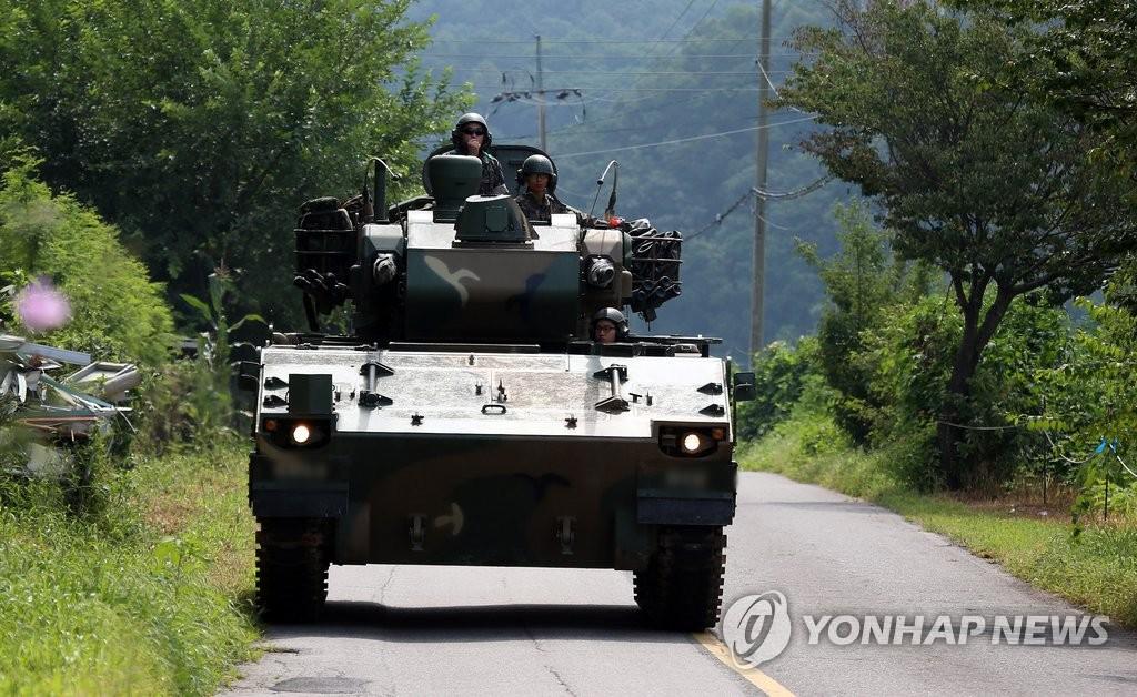 韩朝局势紧张 韩军严密戒备