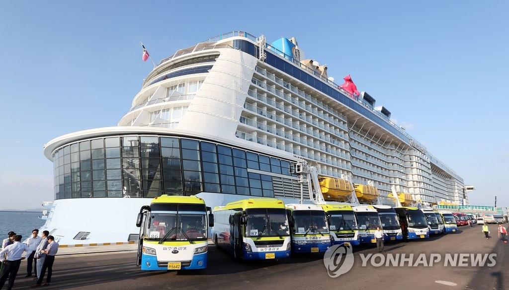 韩争取邮轮停靠吸引中国游客