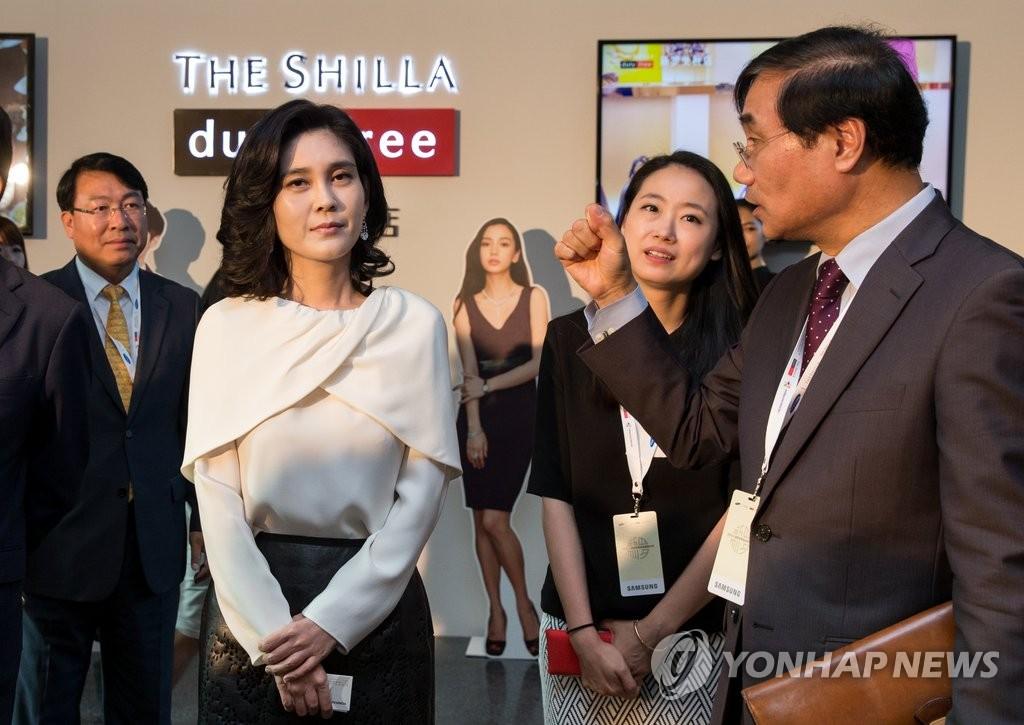 新罗酒店社长李富真赴华推介韩国游