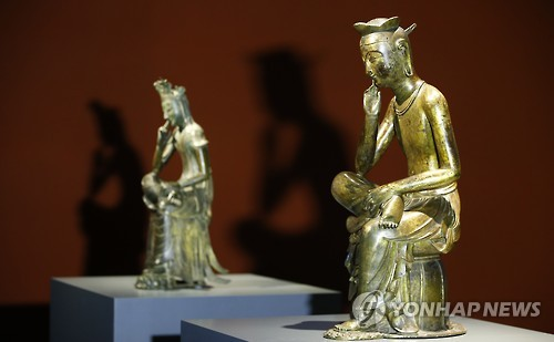 韩国国宝金铜半跏思惟像10月起常年展出