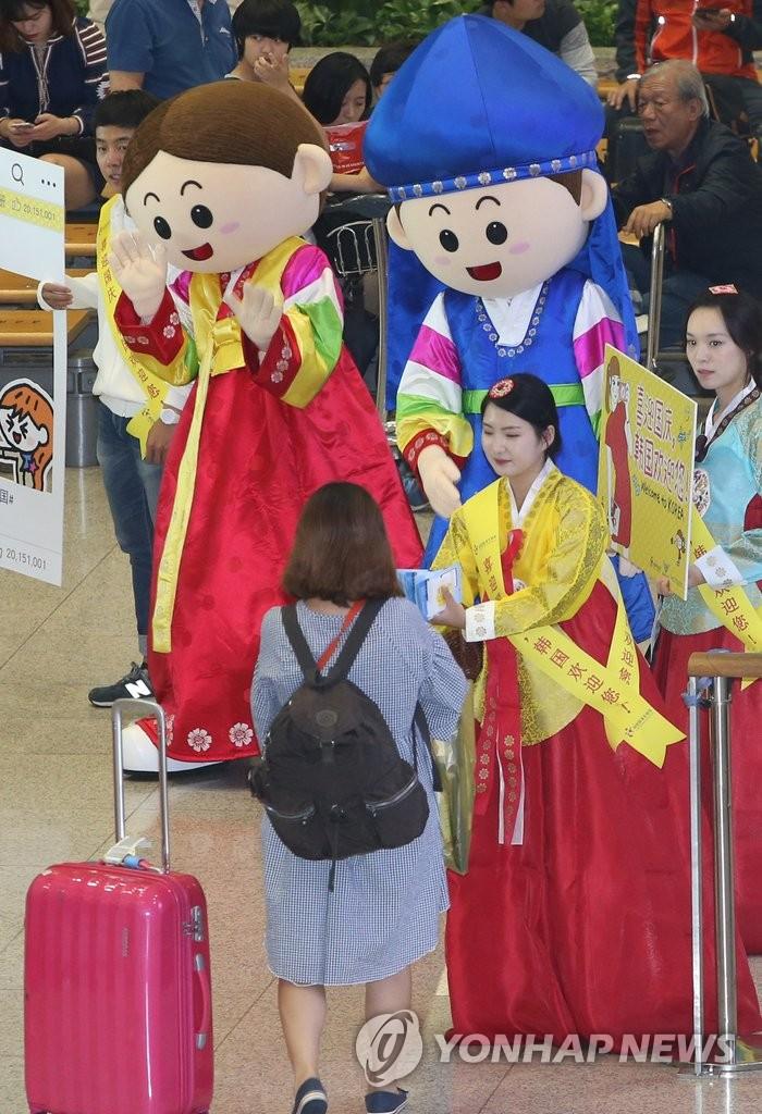 欢迎你 中国游客