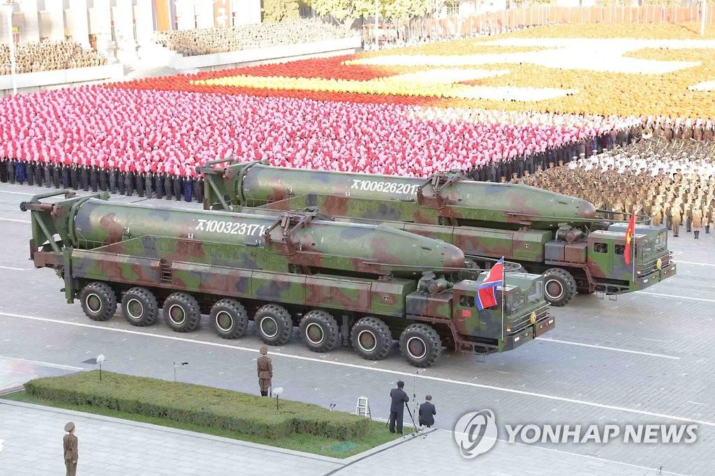 朝鲜改良版洲际导弹KN-08