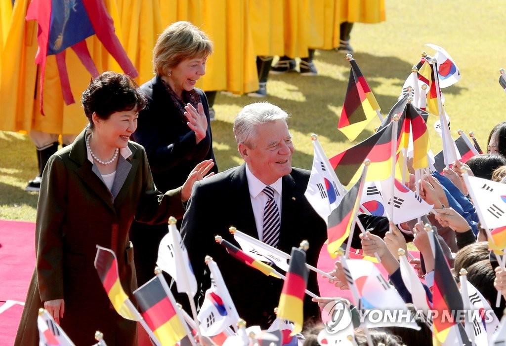 德国总统高克访韩
