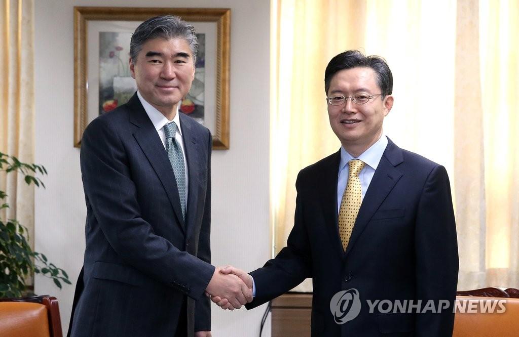 朝核六方会谈韩美团长会晤