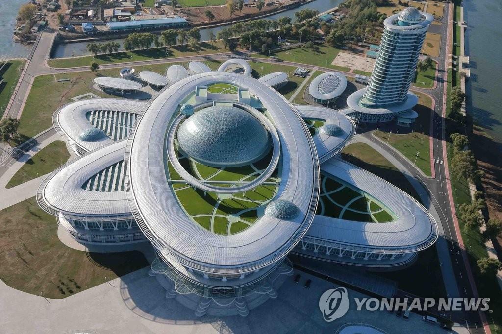 朝鲜科学技术殿堂全面竣工