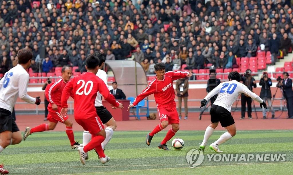 韩朝工人足球赛8月在首尔举行