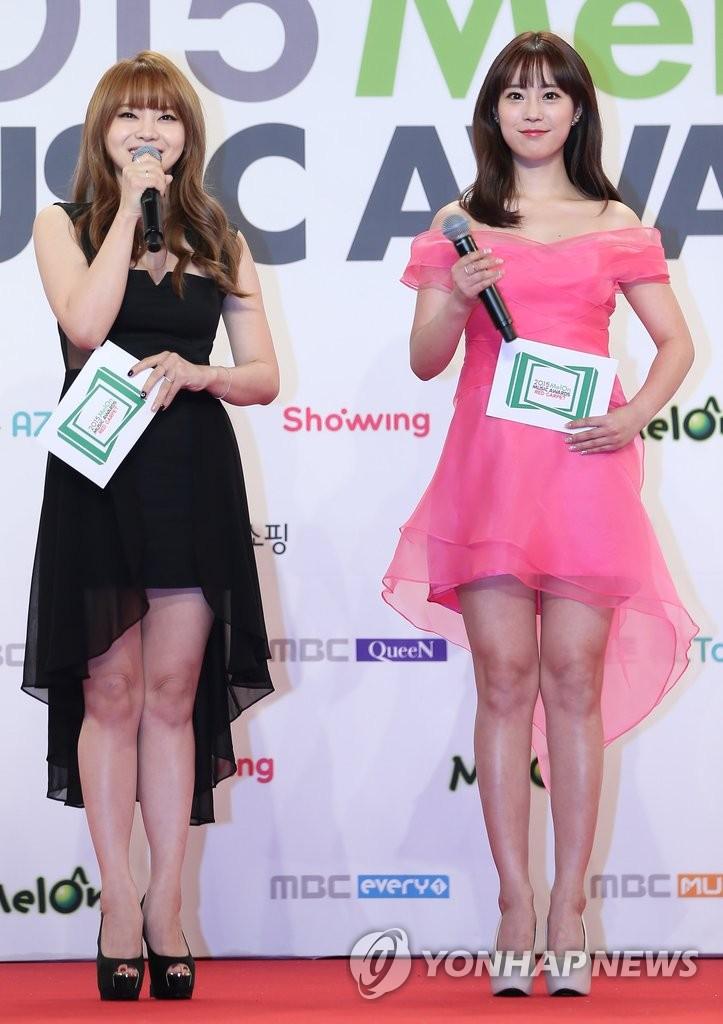 徐宥利和KARA英智