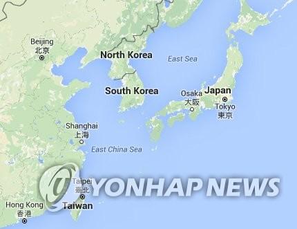 """谷歌地图未标注韩国首都""""首尔"""""""