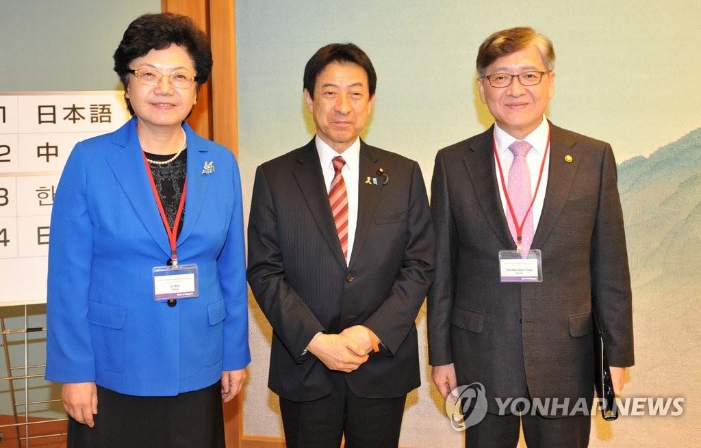 韩中日举行第八届卫生部长会议
