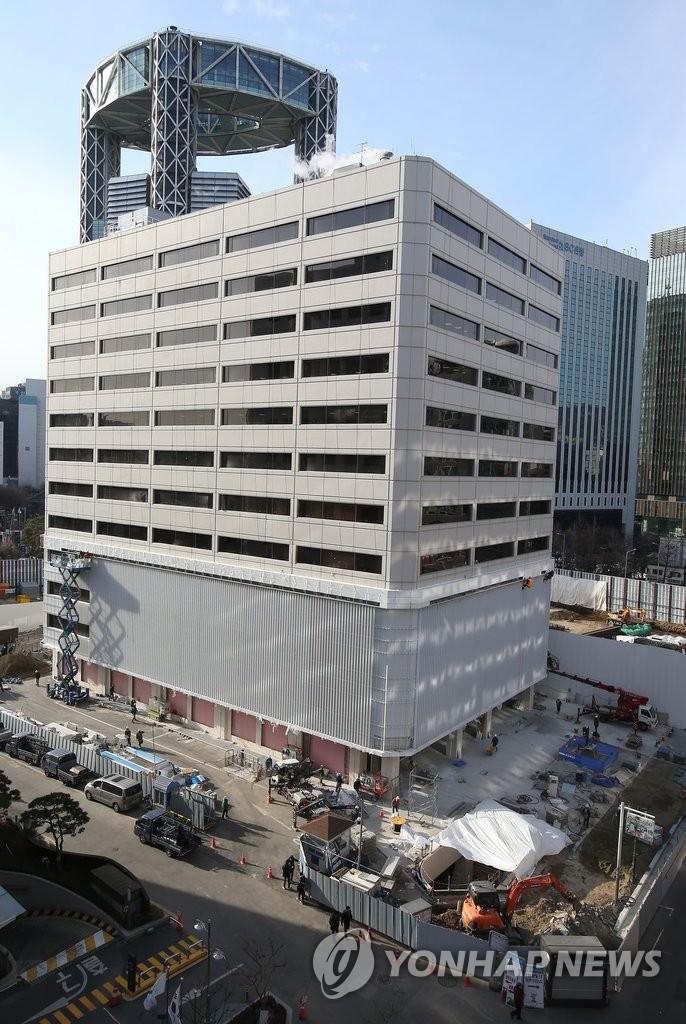 韩SM免税店首尔仁寺洞店正式开业
