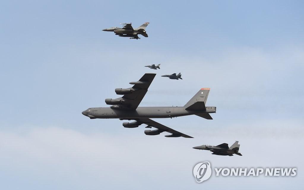 美军迅速向韩出动B-52轰炸机展示严惩朝鲜新挑衅意志