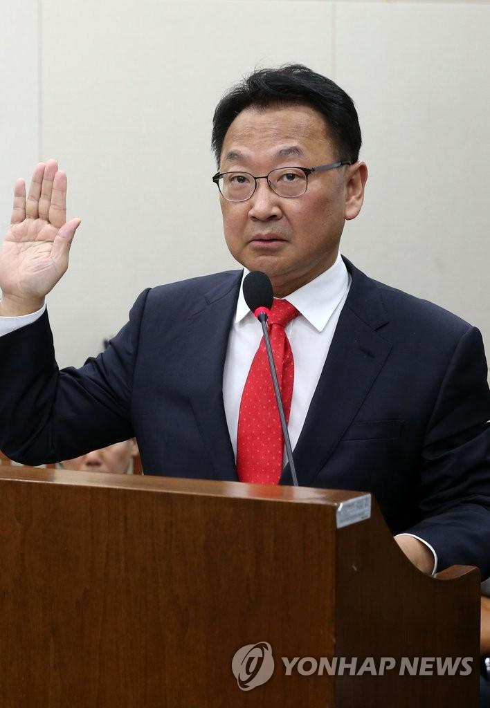 韩经济副总理提名人参加人事听证会