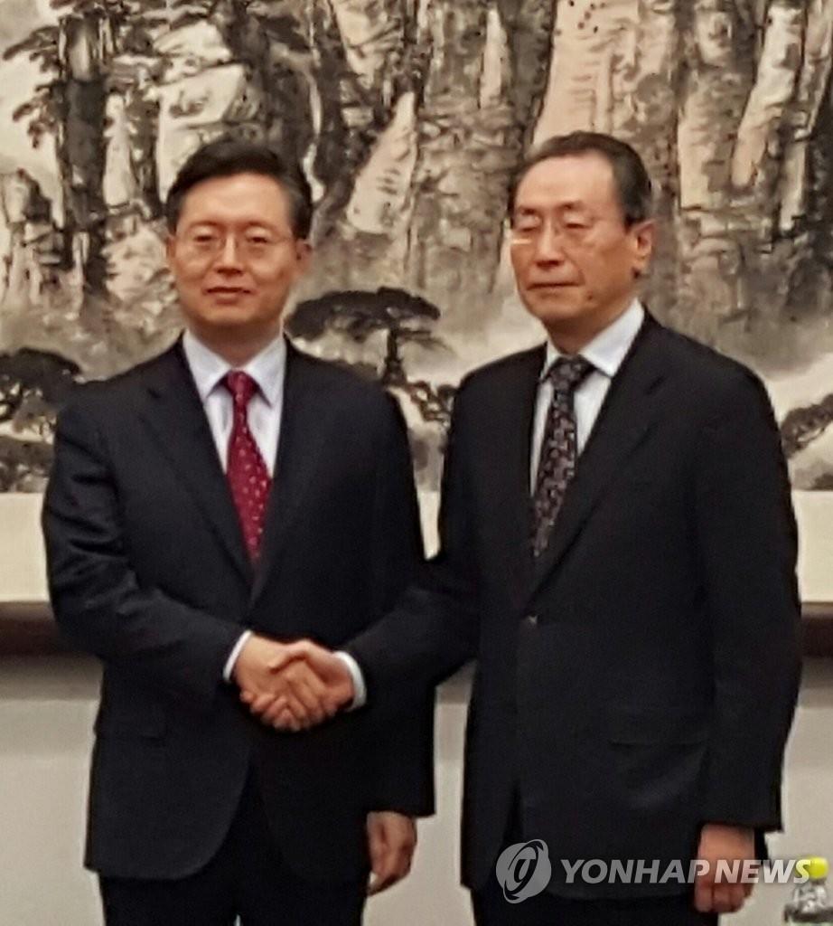 朝核问题六方会谈韩中团长