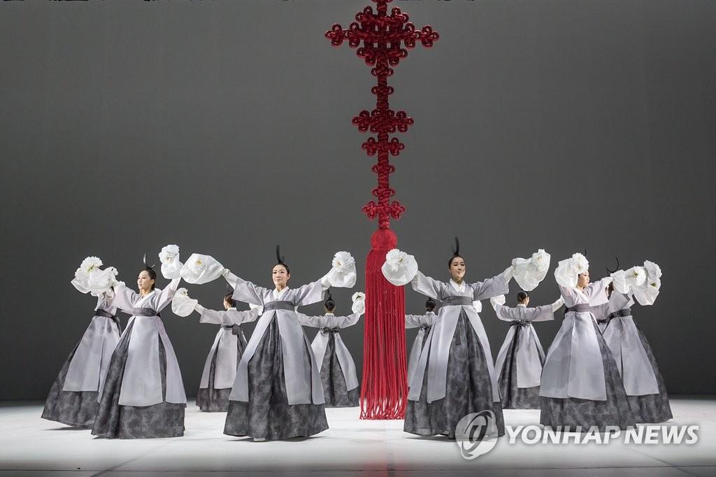 韩舞蹈团赴华表演庆祝韩国旅游年启动