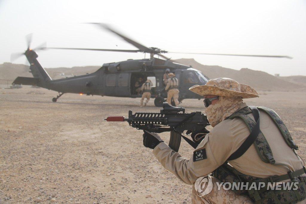 """韩""""阿克部队""""进驻阿联酋迎五周年"""