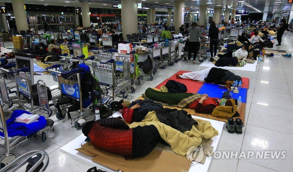 济州机场停航
