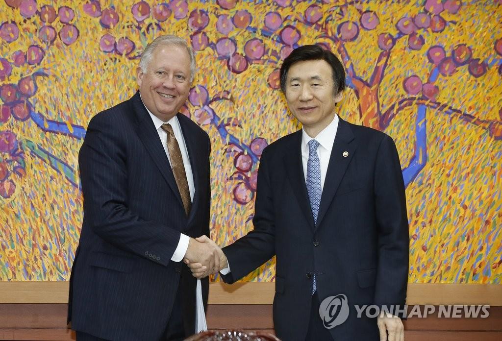 韩外长会见美副国务卿提名人