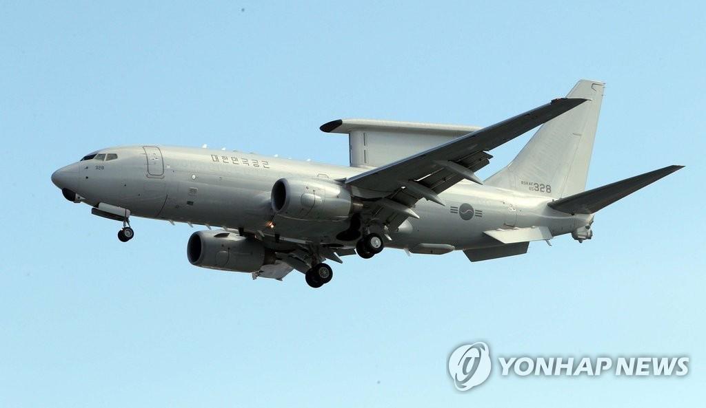 韩预警机最早发现朝射弹